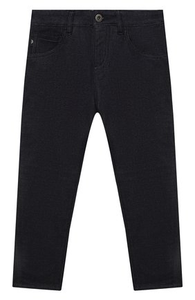 Детские джинсы EMPORIO ARMANI темно-синего цвета, арт. 3K4J04/4D2AZ   Фото 1