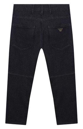 Детские джинсы EMPORIO ARMANI темно-синего цвета, арт. 3K4J04/4D2AZ   Фото 2