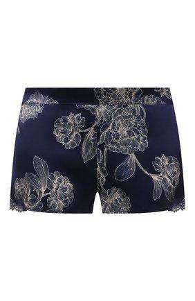 Женские шелковые шорты AUBADE темно-синего цвета, арт. QS61-1 | Фото 1