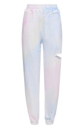 Женские хлопковые джоггеры FORTE DEI MARMI COUTURE разноцветного цвета, арт. 21SF9080-1 | Фото 1