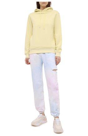 Женские хлопковые джоггеры FORTE DEI MARMI COUTURE разноцветного цвета, арт. 21SF9080-1 | Фото 2