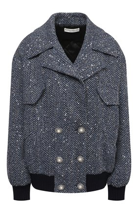 Женская куртка ALESSANDRA RICH синего цвета, арт. FAB2500-F3188 | Фото 1
