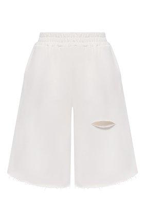 Женские хлопковые шорты FORTE DEI MARMI COUTURE кремвого цвета, арт. 21SF9081 | Фото 1