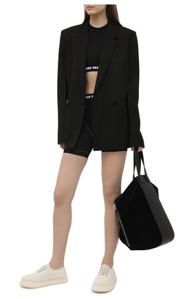 Женские шорты HERON PRESTON черного цвета, арт. HWVH002R21KNI0011001 | Фото 2