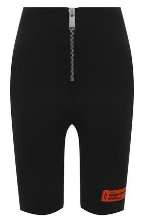 Женские шорты HERON PRESTON черного цвета, арт. HWCB013R21FAB0011000 | Фото 1