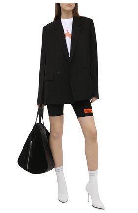 Женские шорты HERON PRESTON черного цвета, арт. HWCB013R21FAB0011000 | Фото 2