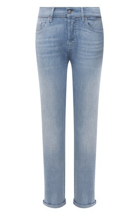 Женские джинсы 7 FOR ALL MANKIND голубого цвета, арт. JSDSR510RN   Фото 1