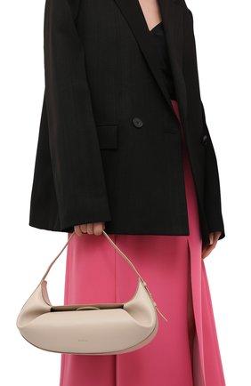 Женская сумка fortune cookie YUZEFI бежевого цвета, арт. YUZC0-HB-FC-01   Фото 2
