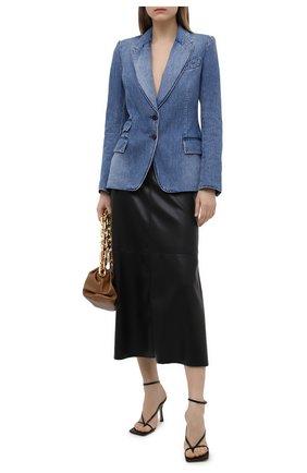 Женский джинсовый жакет TOM FORD голубого цвета, арт. GID050-DEX111 | Фото 2
