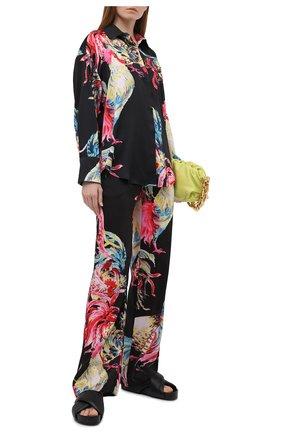 Женские брюки MSGM разноцветного цвета, арт. 3042MDP114 217352 | Фото 2