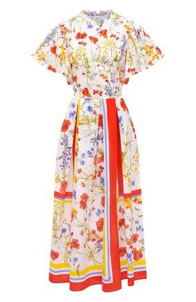 Женское хлопковое платье SARA ROKA разноцветного цвета, арт. FI0RE90/31-S2130 | Фото 1