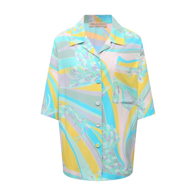 Рубашка из вискозы Emilio Pucci