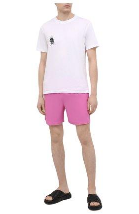 Мужские плавки-шорты POLO RALPH LAUREN розового цвета, арт. 710829851 | Фото 2