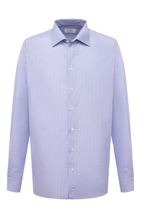 Мужская хлопковая сорочка ETON голубого цвета, арт. 1000 03046 | Фото 1