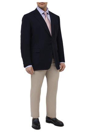 Мужская хлопковая сорочка ETON голубого цвета, арт. 1000 03046 | Фото 2
