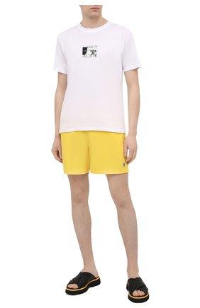 Мужские плавки-шорты POLO RALPH LAUREN желтого цвета, арт. 710829851 | Фото 2