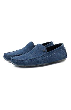 Мужские замшевые мокасины ALDO BRUE синего цвета, арт. AB0001.GU.P.P | Фото 1