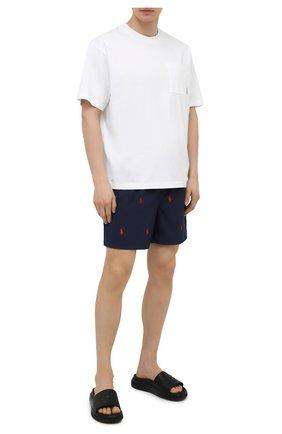 Мужские кожаные шлепанцы jarmo BALLY черного цвета, арт. JARM0/00 | Фото 2 (Материал внутренний: Натуральная кожа)