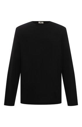 Мужская хлопковый лонгслив KIRED черного цвета, арт. WBACI0MW732100700U/64-74 | Фото 1