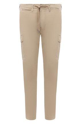 Мужские хлопковые брюки-карго POLO RALPH LAUREN бежевого цвета, арт. 710835172 | Фото 1