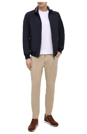 Мужские хлопковые брюки-карго POLO RALPH LAUREN бежевого цвета, арт. 710835172 | Фото 2