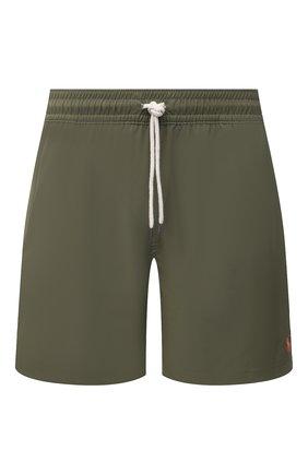 Мужские плавки-шорты POLO RALPH LAUREN хаки цвета, арт. 710829851 | Фото 1