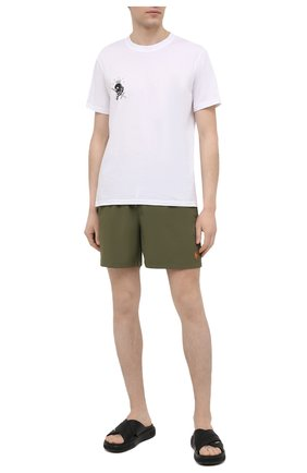 Мужские плавки-шорты POLO RALPH LAUREN хаки цвета, арт. 710829851 | Фото 2