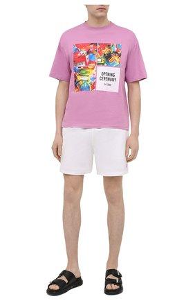 Мужские плавки-шорты POLO RALPH LAUREN белого цвета, арт. 710829851 | Фото 2