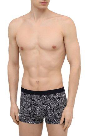 Мужские боксеры ZIMMERLI черно-белого цвета, арт. 5185-8318 | Фото 2
