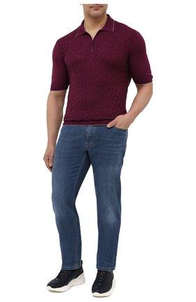 Мужское хлопковое поло SVEVO бордового цвета, арт. 46302SE21L/MP46 | Фото 2