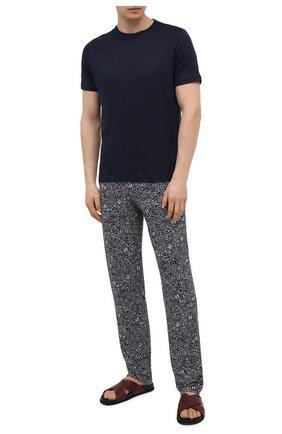 Мужские домашние брюки ZIMMERLI темно-синего цвета, арт. 5185-95621 | Фото 2