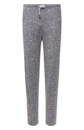 Мужские домашние брюки ZIMMERLI серого цвета, арт. 5185-95621 | Фото 1 (Материал внешний: Синтетический материал; Длина (брюки, джинсы): Стандартные; Кросс-КТ: домашняя одежда; Мужское Кросс-КТ: Брюки-белье)