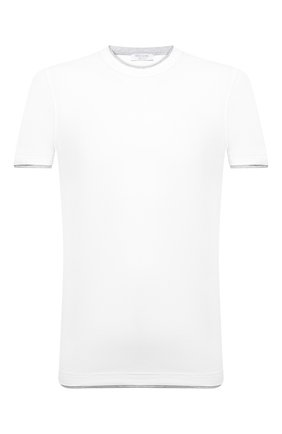 Мужская хлопковая футболка GRAN SASSO белого цвета, арт. 60123/73710 | Фото 1