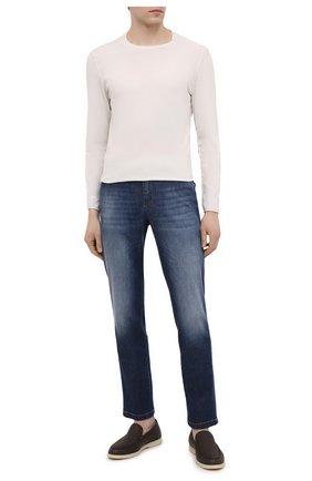 Мужские джинсы PT TORINO синего цвета, арт. 211-C5 VJ01Z50CHN/TX25 | Фото 2