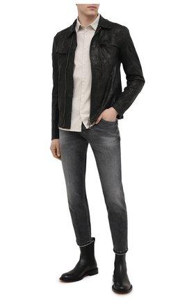 Мужские джинсы PT TORINO серого цвета, арт. 211-C5 TJ05B20STY/0A32 | Фото 2