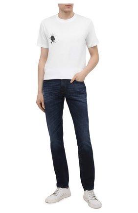 Мужские джинсы PT TORINO темно-синего цвета, арт. 211-C5 PJ05Z30BAS/TX16 | Фото 2
