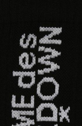 Мужские комплект из шести пар носков COMME DES FUCKDOWN черного цвета, арт. CDFA551   Фото 2