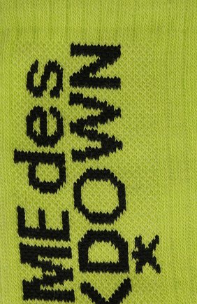 Мужские комплект из шести пар носков COMME DES FUCKDOWN светло-зеленого цвета, арт. CDFA551   Фото 2