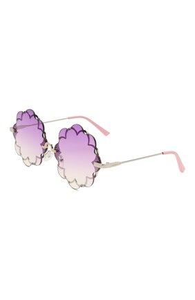 Детские очки MONNALISA сиреневого цвета, арт. 997030 | Фото 1