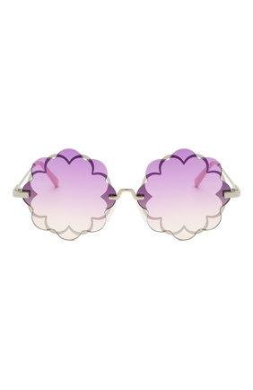 Детские очки MONNALISA сиреневого цвета, арт. 997030 | Фото 2
