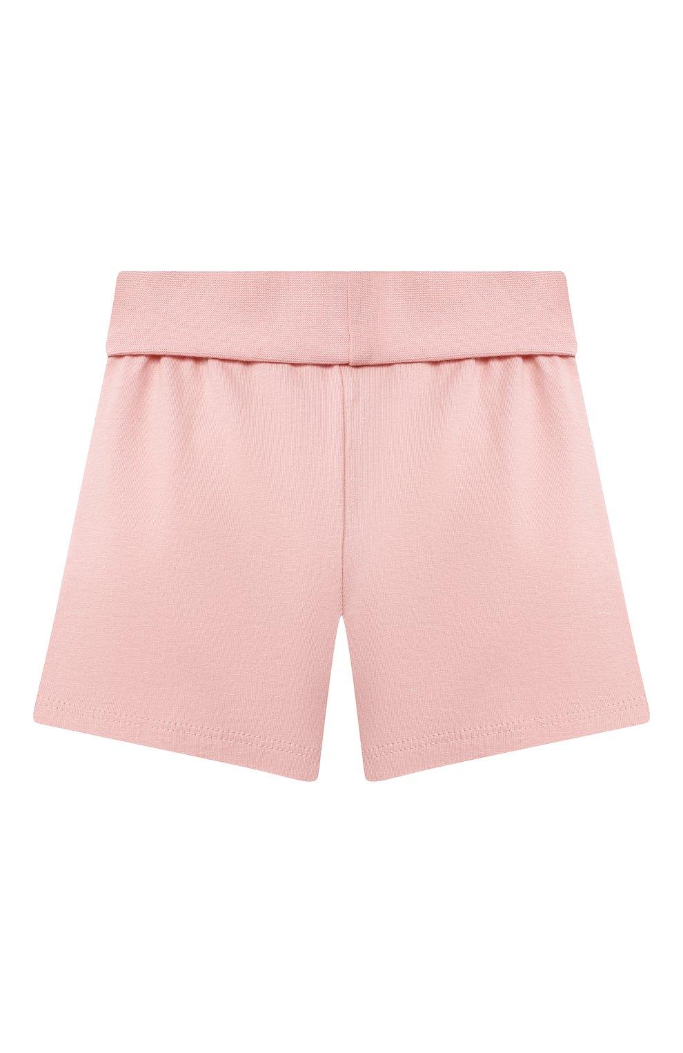 Детская хлопковая пижама SANETTA светло-розового цвета, арт. 221596. | Фото 5