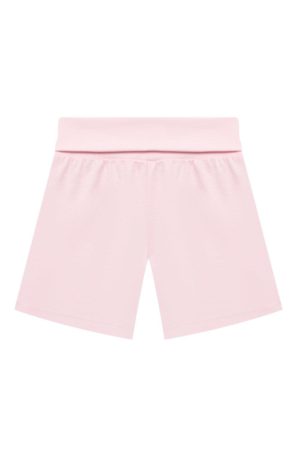 Детская хлопковая пижама SANETTA светло-розового цвета, арт. 221613. | Фото 4