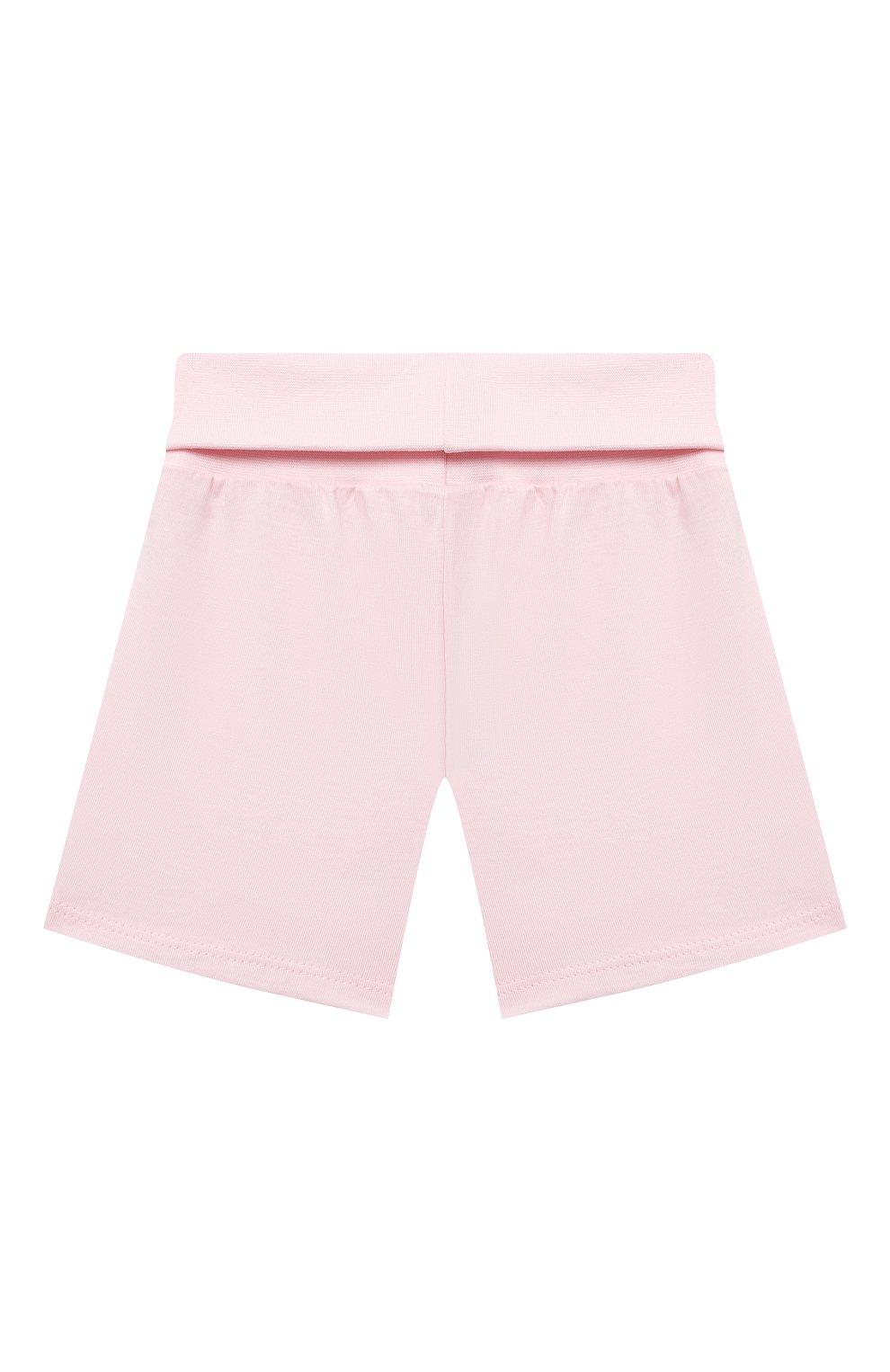 Детская хлопковая пижама SANETTA светло-розового цвета, арт. 221613. | Фото 5