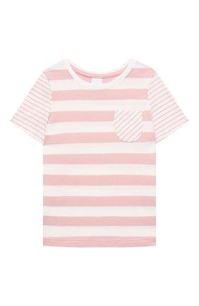 Детская хлопковая пижама SANETTA светло-розового цвета, арт. 232568. | Фото 2