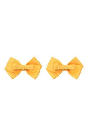Детская комплект из двух заколок JUNEFEE желтого цвета, арт. 6115 | Фото 2