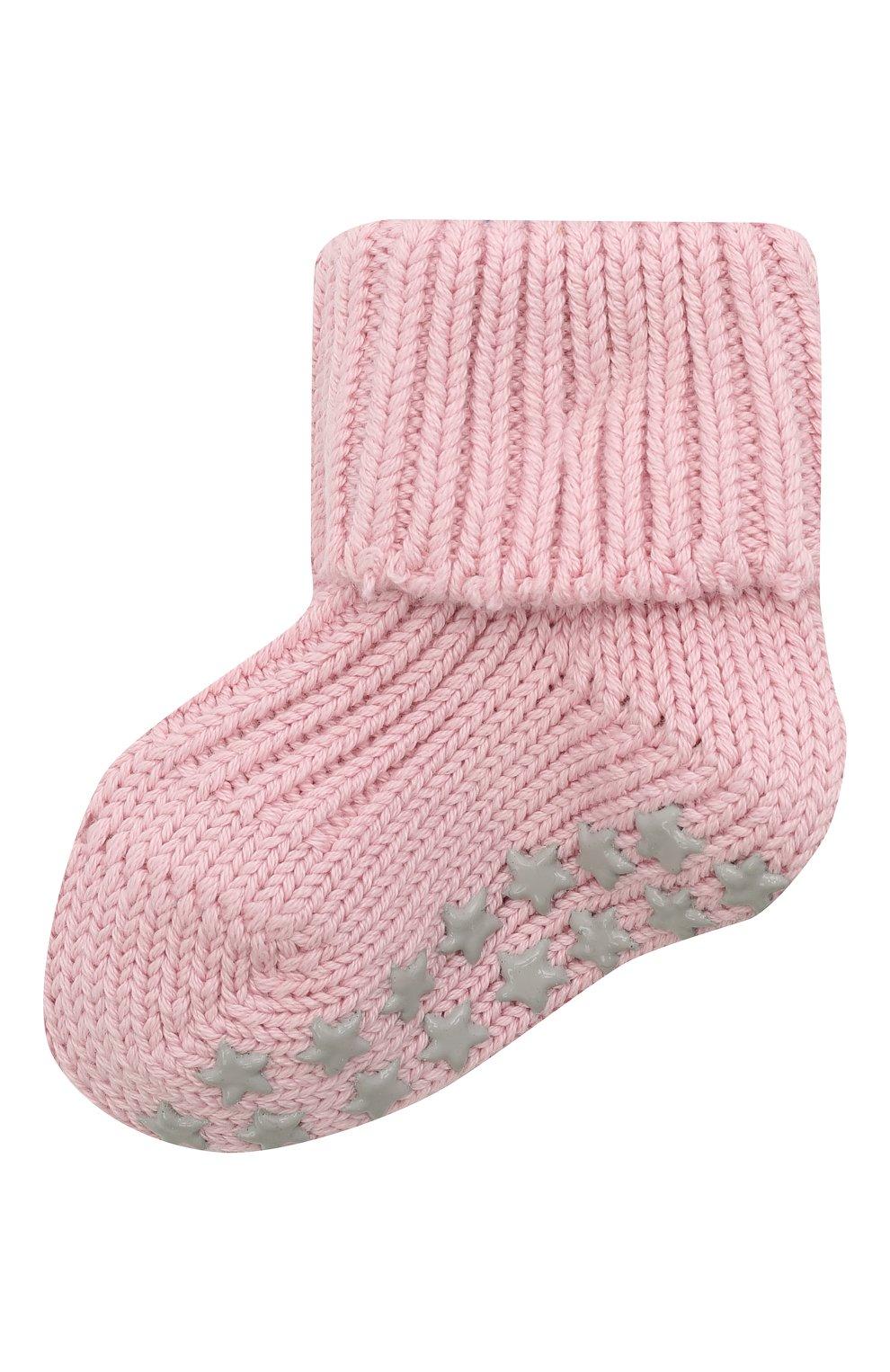 Детские хлопковые носки FALKE розового цвета, арт. 10603.   Фото 1