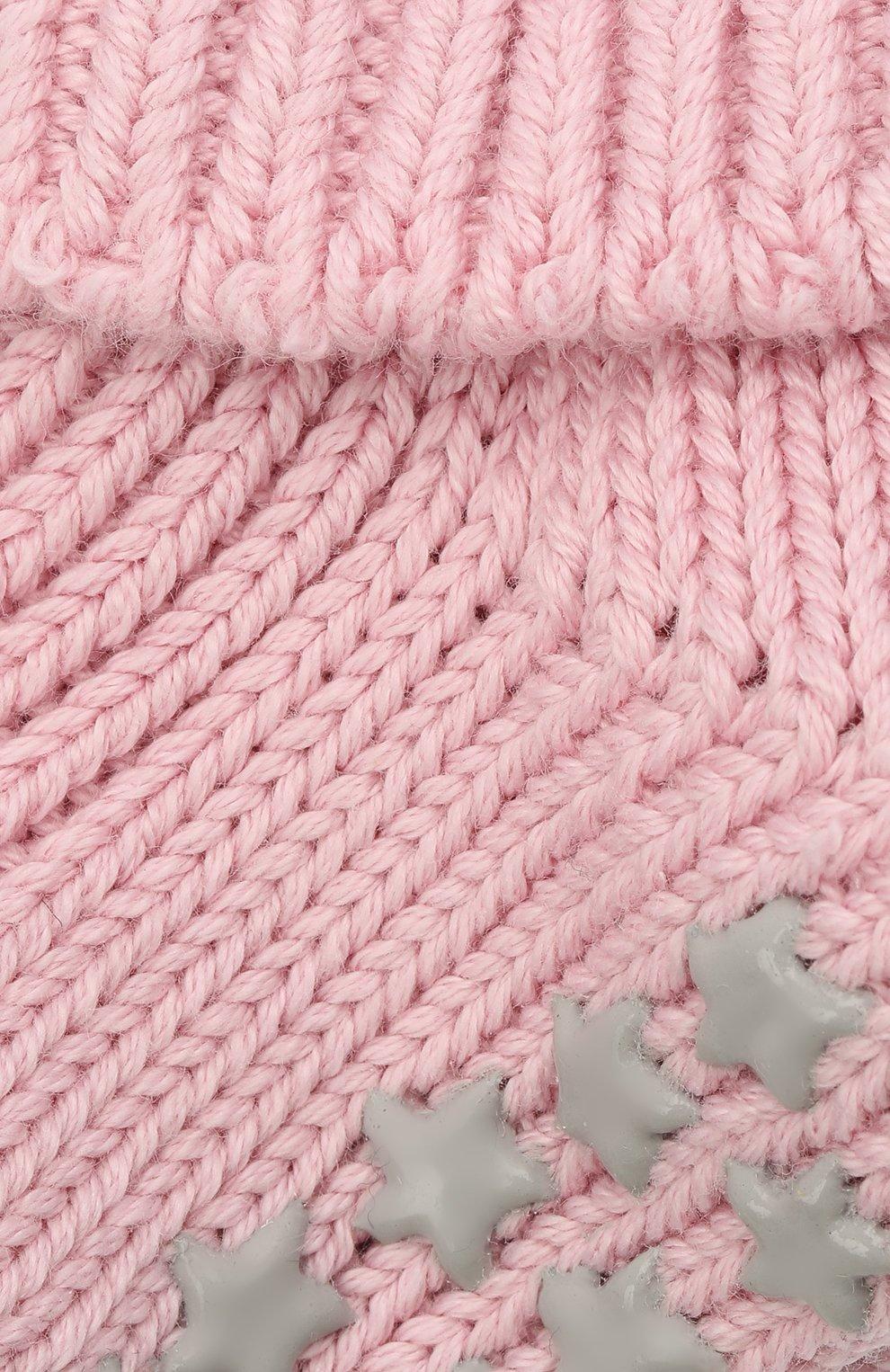 Детские хлопковые носки FALKE розового цвета, арт. 10603.   Фото 2