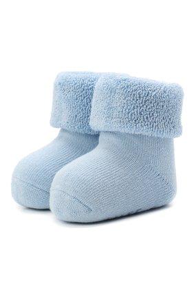 Детские хлопковые носки FALKE голубого цвета, арт. 10612. | Фото 1