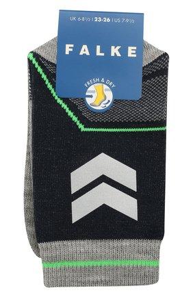 Детские носки FALKE темно-синего цвета, арт. 12978. | Фото 1