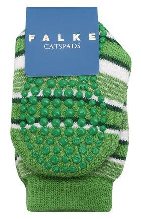 Детские носки FALKE зеленого цвета, арт. 12268. | Фото 1